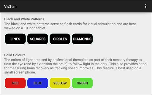 VisStim Visual Sensory Therapy