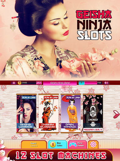 Geisha Ninja Slots Free Pokies  screenshots {n} 6