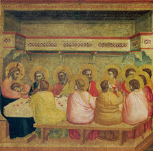 Photo: Giotto, The Last Supper, Ca. 1306