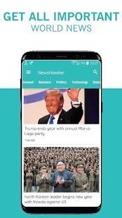 NewsHawker - náhled