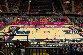 Photo: Basketball Arena - Spain vs. UK