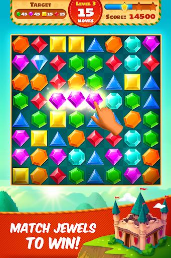 Jewel Empire : Quest & Match 3 Puzzle 3.1.13 screenshots 1