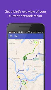 Network Map - GIS - náhled