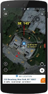 Compass for google map - náhled