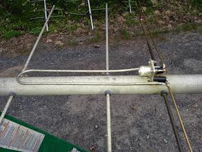 Photo: Rebuilt 144 MHz yagi feed
