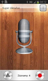 Super diktafon - náhled