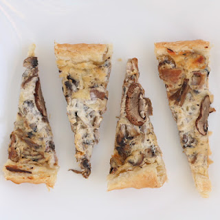 Creamy Mushroom Tart Recipe