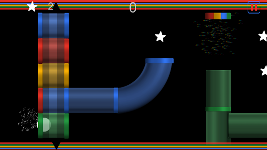 Color Tube - Driving the ball Screenshot