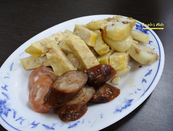 阿財點心、榮盛米糕、阿川古早味粉圓冰。康樂市場巡禮~台南必吃美食!