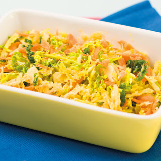 Savoy Cabbage Coleslaw Recipes.