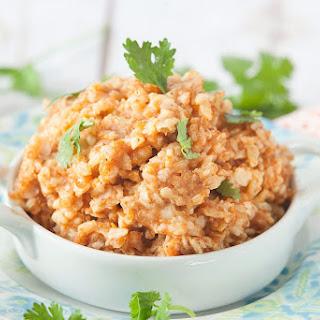 Healthy Spanish Brown Rice.