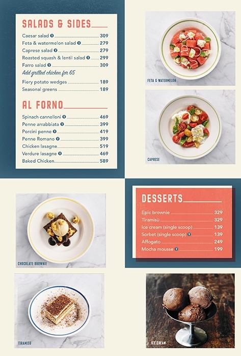 Jamie's Pizzeria by Jamie Oliver menu 2