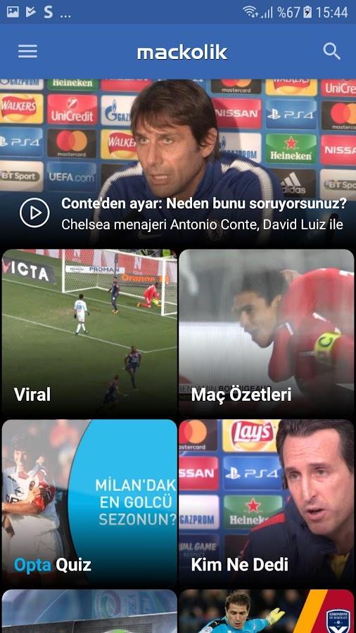 Screenshots of Mackolik Canlı Sonuçlar for iPhone
