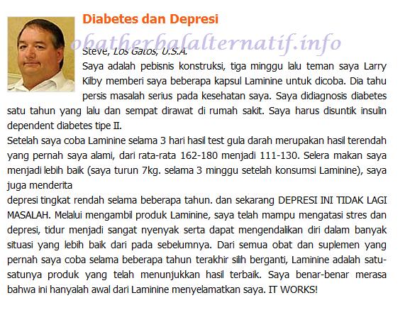 Pengobatan Alternatif Diabetes dan Depresi