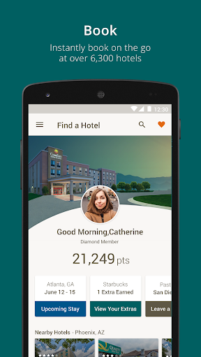 Choice Hotels Screenshot