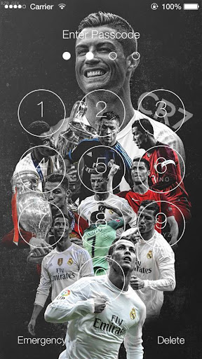 Cristiano Ronaldo Lock Screen HD for PC