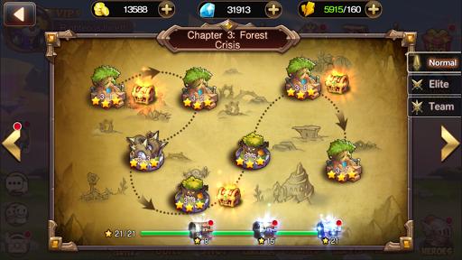 7 Paladins NA: 3D RPG x MOBA 1.1.9 screenshots 7