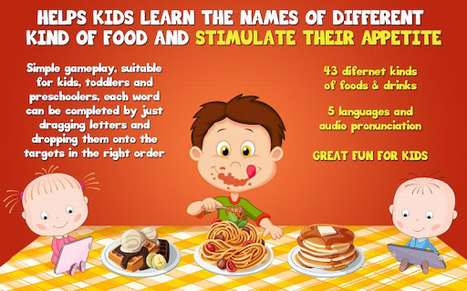 Food Learning For Kids