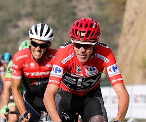 Froome en Contador Vuelta 2017