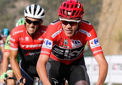 """Alberto Contador vindt de transfer van Chris Froome een goede zaak: """"Het belooft de komende jaren nog spannender te worden"""""""