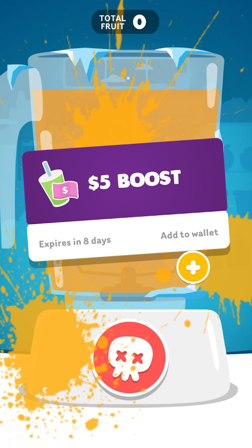 Boost Juice Free The Fruit- screenshot