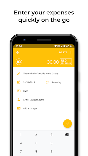 DailySpend - Track your daily expenses and budget screenshot 2