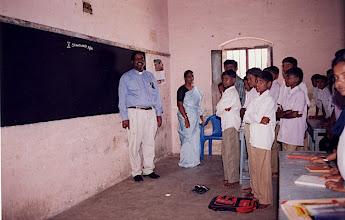 Photo: 10th grade of Concordia High School in Pernambut, Tamil Nadu, S. India—this photo was taken by Cornelius Thivagaran, B. SC., M.Ed. (headmaster of Concordia High School).