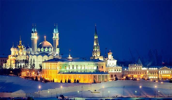 1 trong số các điểm tham quan nổi bật: Di tích Kazan Kremlin
