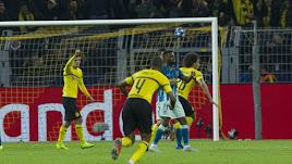Witsel abrió el marcador para el Borussia.