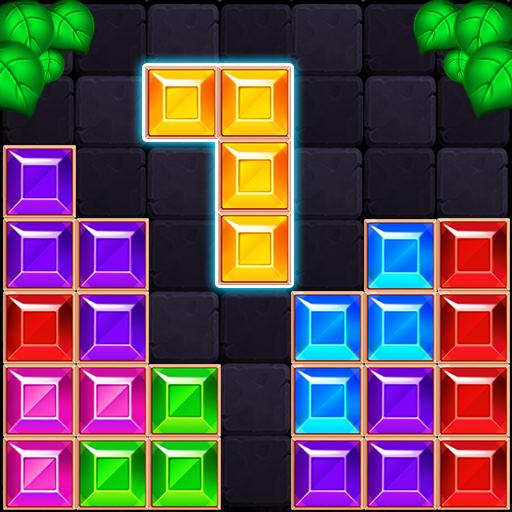 блок головоломки жемчужины