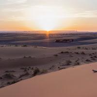Up in the desert di
