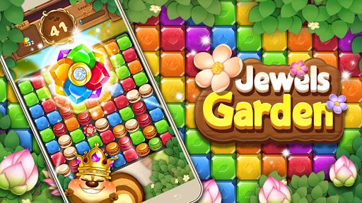 Code Triche Jewels Garden : Blast Puzzle Game APK MOD (Astuce) screenshots 1