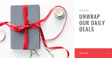Unwrap Our Daily Deals - Facebook Ad Template