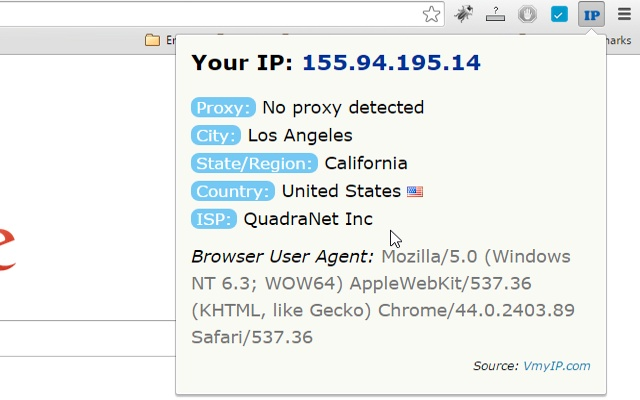 View My IP