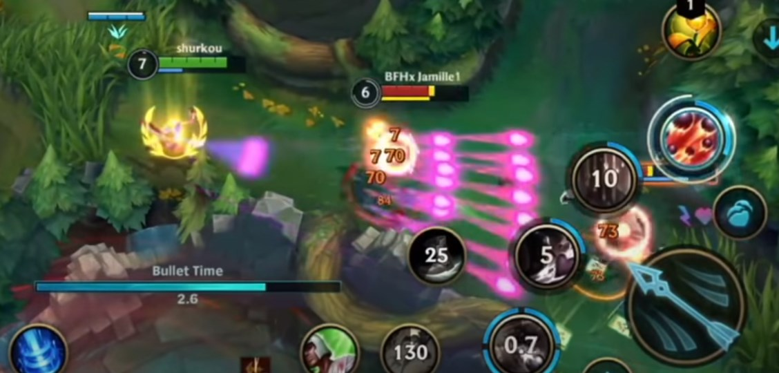 Miss Fortune Bullet Time