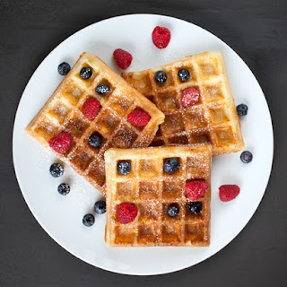 Yeasted Waffles.