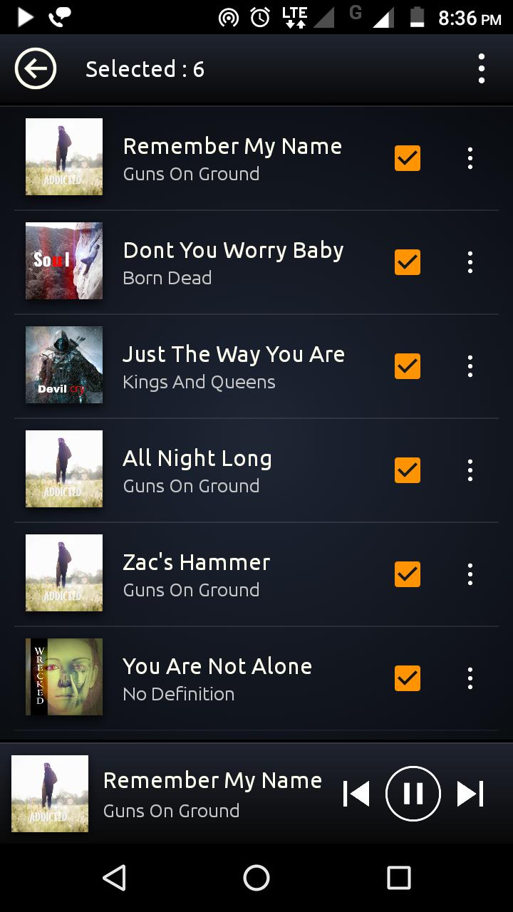 PowerAudio Pro Music Player Screenshot 5