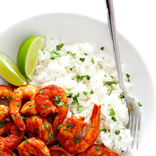 Easy Peruvian Shrimp.
