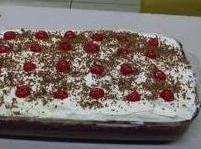 Black Forest Cream Pie Cake Recipe