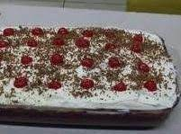 Black Forest Cream Pie Cake Recipe