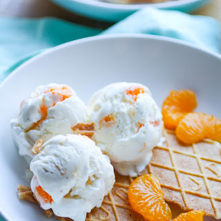 No Churn Orange-Cardamom Ice Cream.