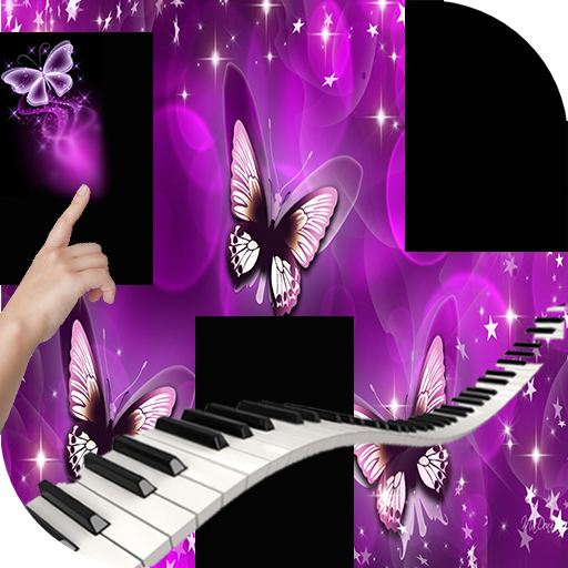 New Piano Tiles  Purple Butterfly