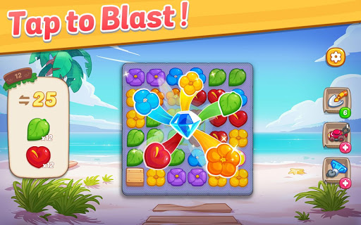 Ohana Island: Blast flowers and build filehippodl screenshot 12