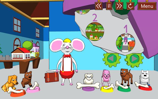 Tam a sem s Myšákem! CZ Hra- image