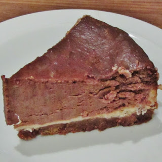 Mary Berry's American Style Chocolate Cheesecake.