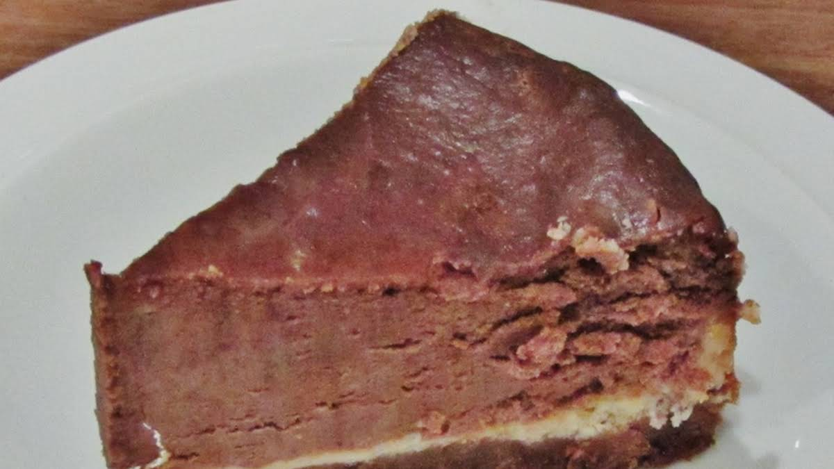 Mary Berrys American Style Chocolate Cheesecake