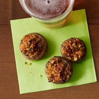 Buffalo Stuffed Mushrooms