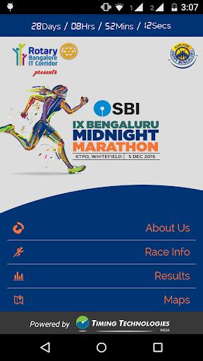 Bengaluru Midnight Marathon.