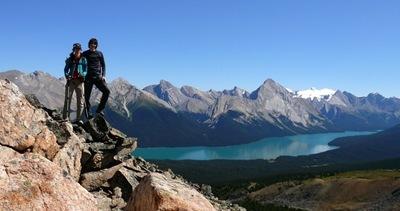 Aussicht Magline Lake