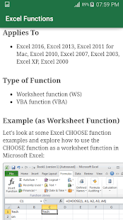 Excel Functions - náhled